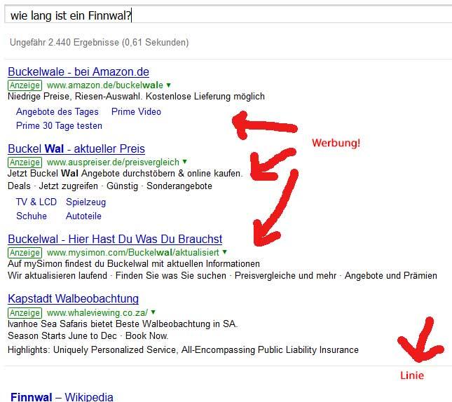 6achtung Werbung Internetrecherche Mit Google In Der Grundschule