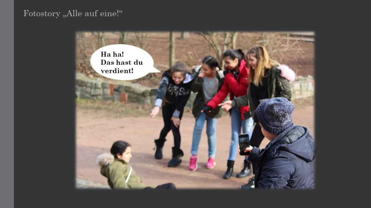 Anti Mobbing Fotostory Ideensammlung Anregungen Zu Einer